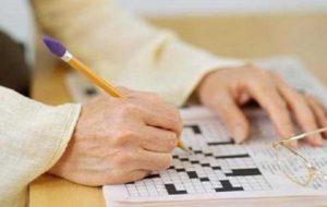 حل جدول موجب افزایش عملکرد مغز در سنین بالا می شود