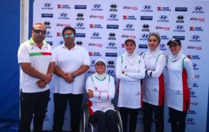 برای نخستین بار؛ تیم ریکرو بانوان ایران در رده چهارم قرار گرفت