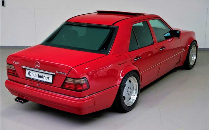 فروش نسخه کمیاب مرسدس بنز E60 AMG مدل ۱۹۹۵
