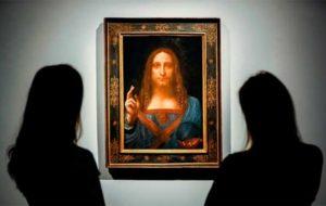 گرانترین نقاشی جهان غایب بزرگ نمایشگاه «داوینچی»