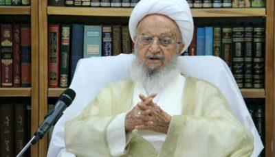 آیتالله مکارم شیرازی: نباید اجازه دهیم آمریکاییها خواستههای نامشروعشان را بر ما دیکته کنند