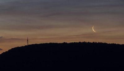 هلال ماه رمضان