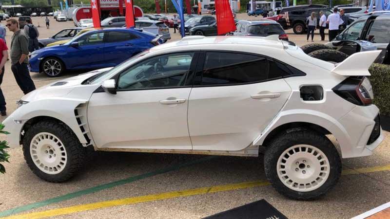 نسخه سفارشی از هوندا سیویک Type R مخصوص رالی ساخته شد