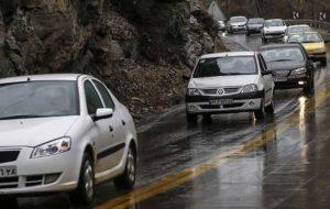 اعلام محدودیتهای ترافیکی در جاده های مازندران
