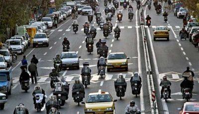 تردد موتورسیکلت