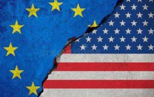 تشدید مناقشات تجاری بین آمریکا و اتحادیه اروپا