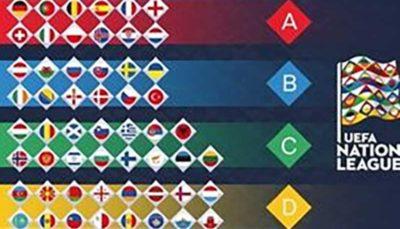 نتایج بازیهای شب گذشته مقدماتی یورو 2020