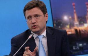 وزیر انرژی روسیه: همه تولیدکنندگان موافق پیشنهاد تمدید توافق جهانی کاهش تولید نفت هستند