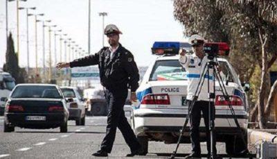 حرکت قابل تحسین افسر راهنمایی و رانندگی برای امنیت جاده