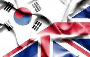 کره جنوبی و انگلیس پیش از برگزیت برای تجارت آزاد مذاکره می کنند