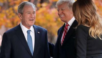 شکست سیاست خاورمیانه ای جورج بوش، باعث شد برای اولین بار یک سیاهپوست با اصل و نسب مسلمان رئیس جمهور آمریکا شود؛ آیا این سناریو درباره ترامپ هم تکرار می شود؟