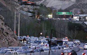 محور هراز مسدود شد/ گزارش ترافیک فوق سنگین در این مسیر