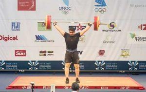 وزنهبرداری جوانان جهان/برنز یک ضرب ۱۰۲ کیلوگرم به ایران رسید