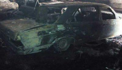 آتش سوزی در محل نگهداری خودروهای کلاسیک/مالک ساختمان فوت کرد