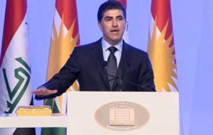 نیچروان بارزانی بعنوان رئیس کردستان عراق سوگند خورد