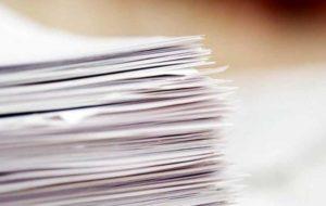 ۷۸درصد کاغذهای اظهارشده ترخیص شد