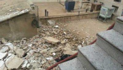 انفجار کپسول گاز در ساختمان دو طبقه قدیمی در تهران