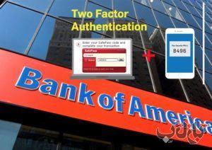 نمونه تایید دو مرحله ای در بانک های خارجی 2 تایید دومرحله ای, بانک زیارت ترکیه, بانک اف آمریکا, تایید پیامکی حساب