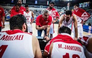 برنامه کامل تیم ملی بسکتبال در سه تورنمنت اروپایی