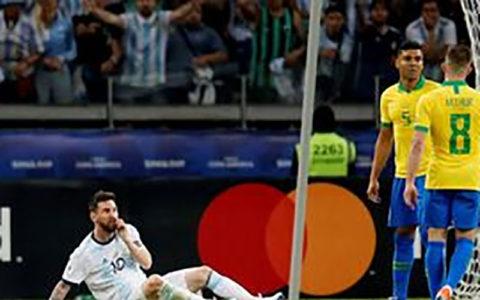 واکنش مسی به حذف آرژانتین از کوپا آمهریکا