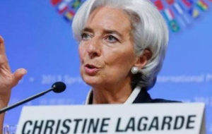"""""""کریستین لاگارد"""" رسما نامزد ریاست بانک مرکزی اروپا شد"""