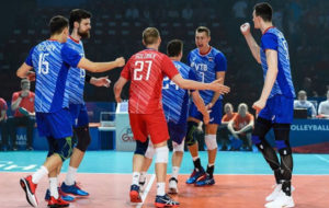 روسیه نخستین فینالیست لیگ ملتهای والیبال