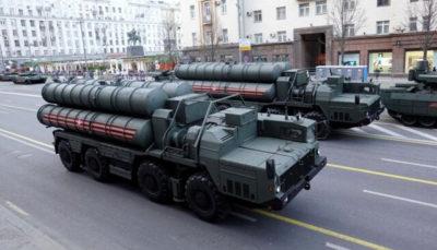 ترکیه: اجزای اولیه اس ۴۰۰ را تحویل گرفتیم