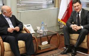 زنگنه با نواک، وزیر انرژی روسیه دیدار میکنند