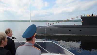 55 6 سوخت هستهای, روسیه, زیردریایی