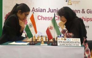چهارمی و هفتمی شطرنج بازان جوان ایران در قهرمانی آسیا