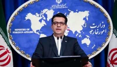 سخنگوی وزارت خارجه: خبر توقیف نفتکش ایرانی در کانال سوئز صحت ندارد
