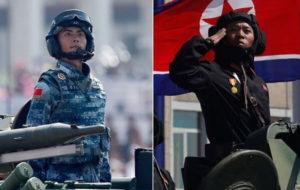 چین و کره شمالی روابط نظامی خود را افزایش میدهند