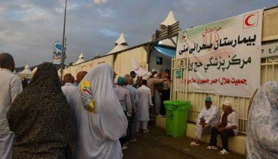 اجرای ۲۶ ماموریت اورژانسی انتقال حجاج ایرانی به بیمارستان منا