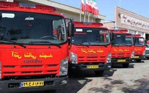 ایستگاه 110 آتشنشانی افتتاح شد