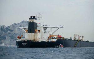 """آمریکا حکم توقیف نفتکش ایرانی """"گریس 1"""" را صادر کرد"""