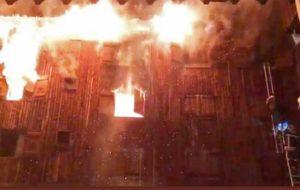 آتشسوزی بزرگ در مدرسهای در اسکاتلند