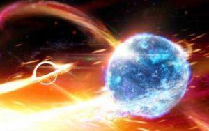 یک ستاره نوترونی توسط یک سیاه چاله بلعیده شد