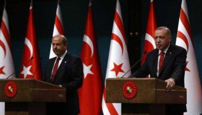 تأکید اردوغان به حمایت از قبرس ترکنشین