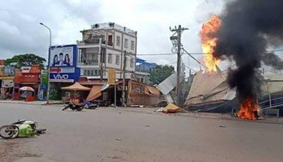 ۱۳ زخمی درپی انفجار تانکر سوخت در کامبوج