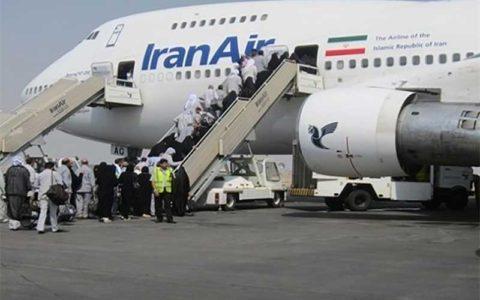 زائران ۱۰ ساعت قبل از پرواز آماده عزیمت به فرودگاه باشند