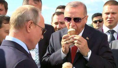 وقتی پوتین پول بستنی اردوغان را حساب میکند