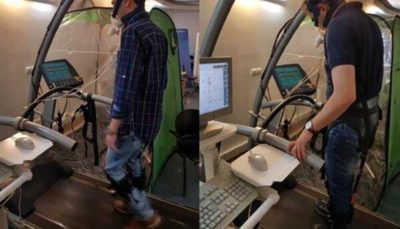 ساخت اندام کمک حرکت برای توانبخشی معلولان در دانشگاه تهران