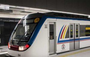 انجام 14 درصد از سفرهای درونشهری پایتخت با مترو