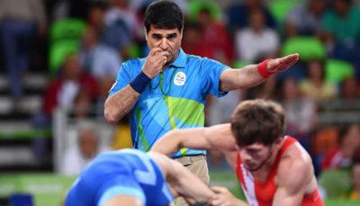 39 26 سه داور المپیکی, ایرانی, رقابتهای جهانی کشتی
