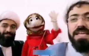 روحانی عروسکگردانی که با هنرش دین را تبلیغ میکند +فیلم