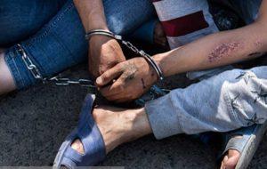 دستگیری یک شرور به جرم شرکت در نزاع دسته جمعی
