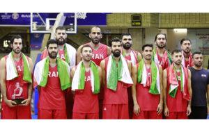 کاروان تیم ملی بسکتبال ایران در راه گوانگژو