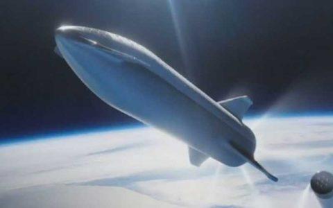 «استارشیپ» در مریخ فرود میآید