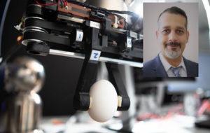 محقق ایرانی بازوی رباتیک با دقت دست انسان ساخت