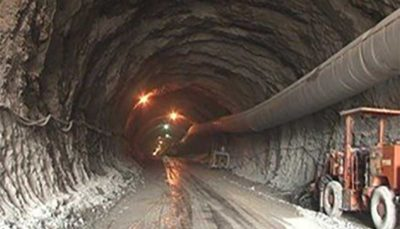 پیشرفت 85 درصدی عملیات حفاری هشتمین تونل ترافیکی پایتخت در خیابان آزادی
